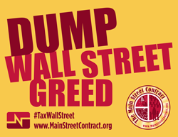 Dump Wall Street greed