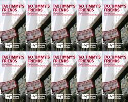 Tax Timmy stickers