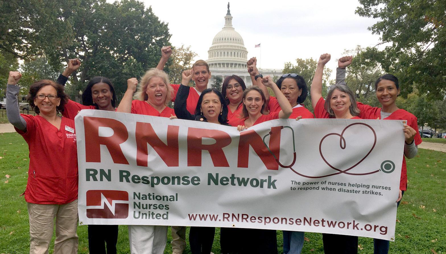 RNRN volunteers at US Capitol