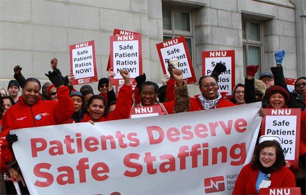 Safe nurse to patient ratios