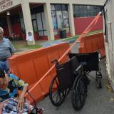 Devistated elderly residents of Puerto Rico