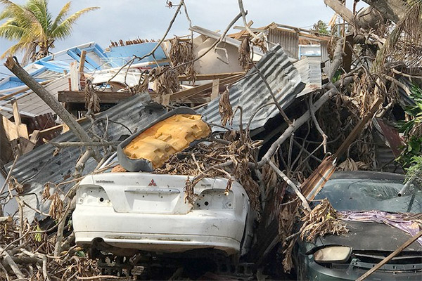 Destruction RNs have witnessed in Puerto Rico