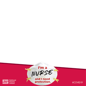 I'm a Nurse N95 Mask FaceBook Frame