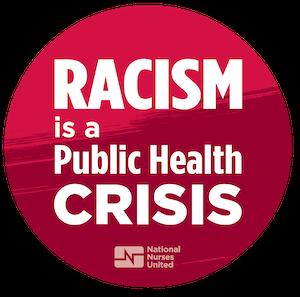 "Sticker ""Racism Is a Public Health Crisis"""