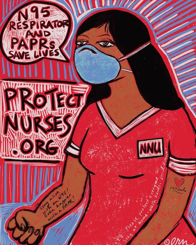 Erin FitzGerald nurse art