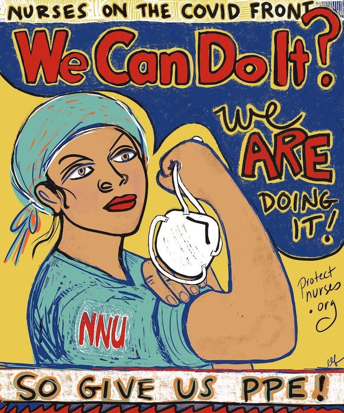 Erin FitzGerald nurse art image2