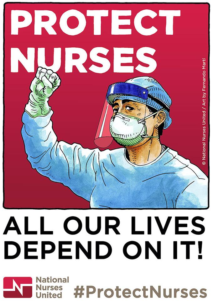 Fernando Marti nurse artwork