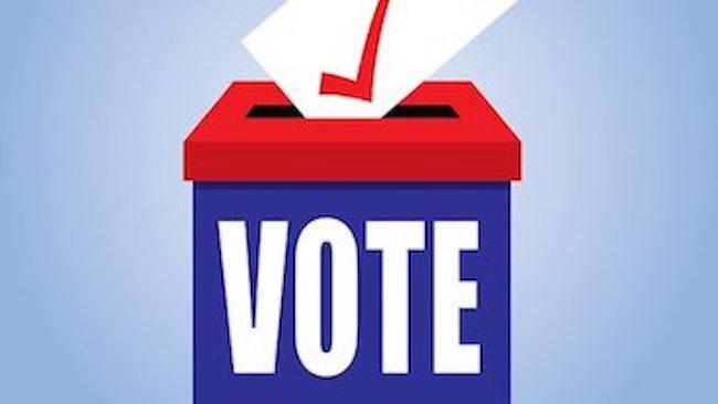 """Graphic """"Vote"""""""