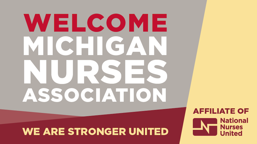 Michigan Nurses Association Logo