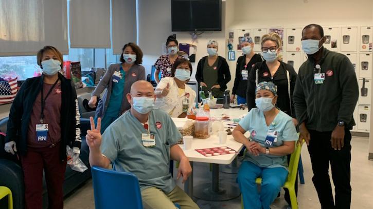 Palomar Health Nurses and Health Care Workers
