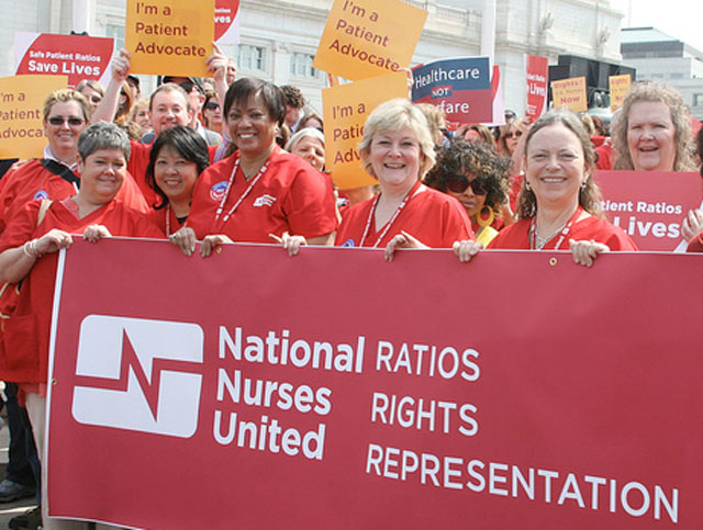 RN leaders and advocates for nurses and patients in Washington D.C.