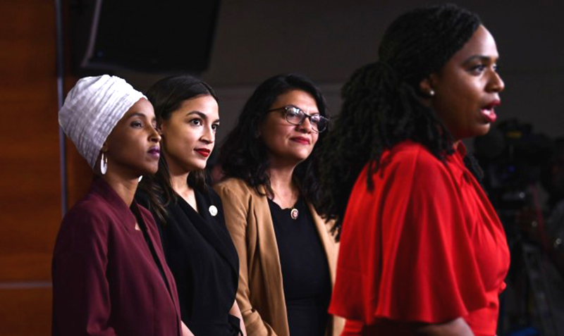 Congressional women of color