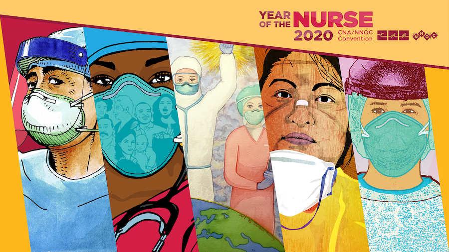 "Graphic - CNA/NNOC ""The Year of the Nurse"" convention"
