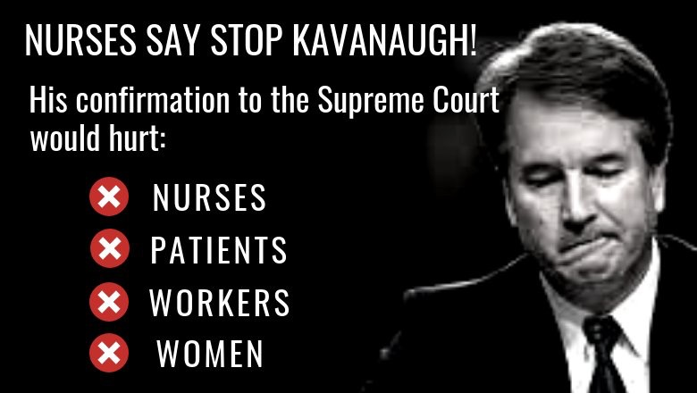 NNU Is Calling on the Senate To Oppose Kavanaugh