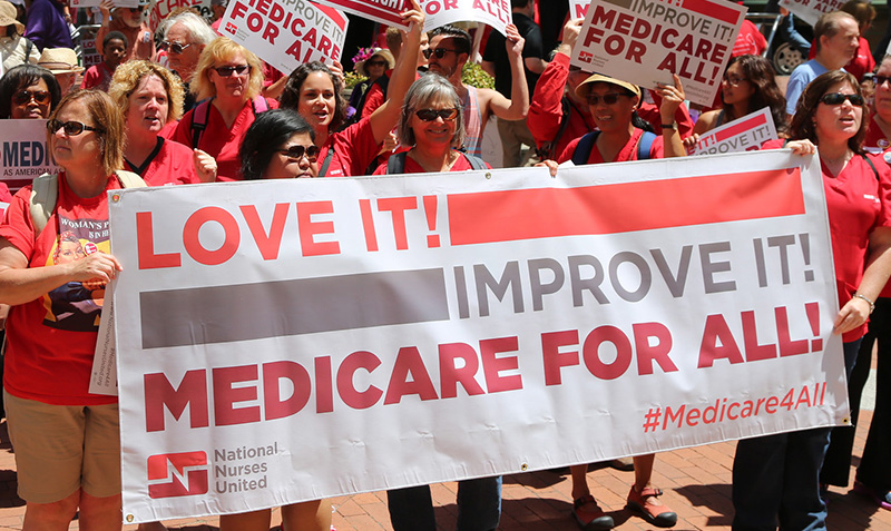 Campaign In Support of  Rep. Jayapal's New Medicare for All Bill