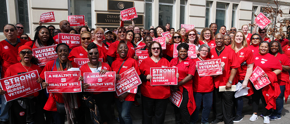 Nurses rally for Veterans healthcare