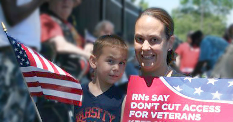 Nurses fighting for a strong VA