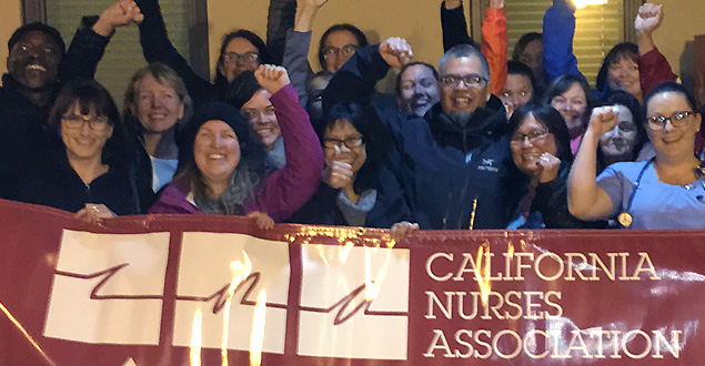 Barton Memorial RNs celebrate election win