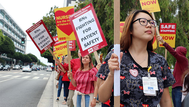 On Strike For Safe Patient Care