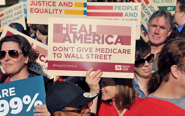 Don't Give Medicare to Wallstreet
