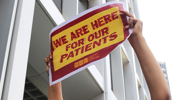 We Are Here For Our Patients