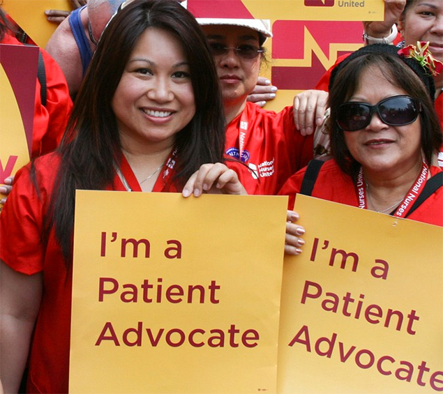 Strong unions mean strong patient advocacy.
