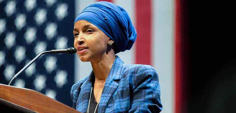 Somali American candidate for Minnesota State Representative, Ilhan Omar. Photo Credit: Lorie Shaull (CC)
