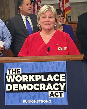 Jean Ross, RN Co-President, National Nurses United