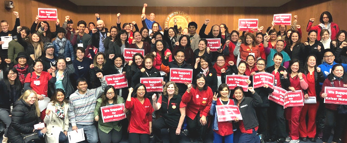 Kaiser nurses cheer over tentative agreement
