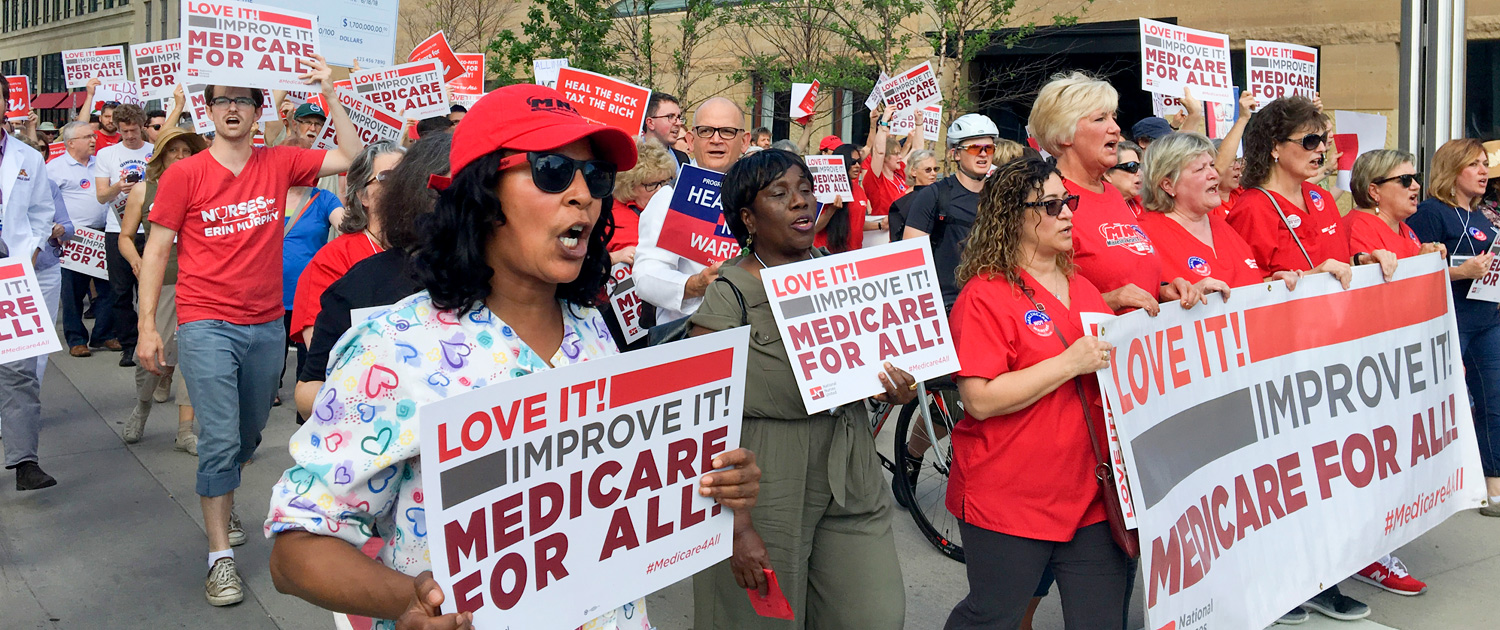 Marching for medicare for all