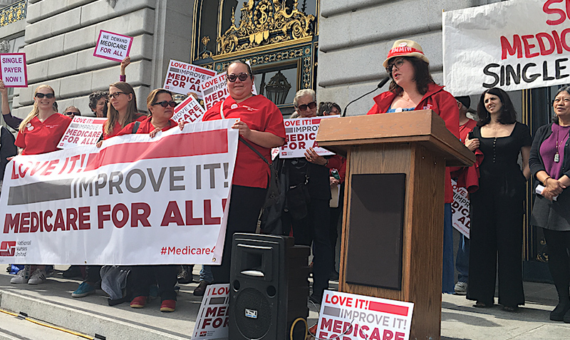 Support the Medicare for All Act