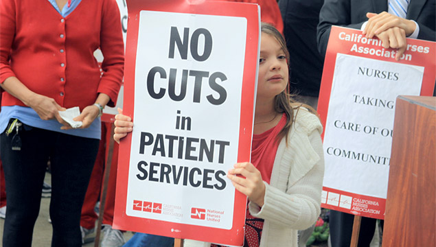 No Cuts in Patient Services