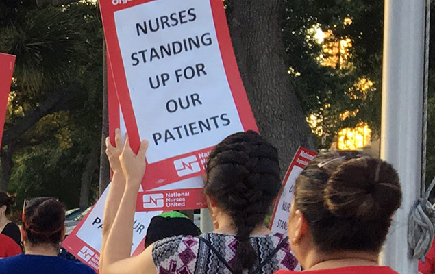 Nurses Stand Up For Patients