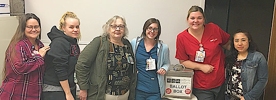 Rideout Regional Medical Center RNs at the ballot box