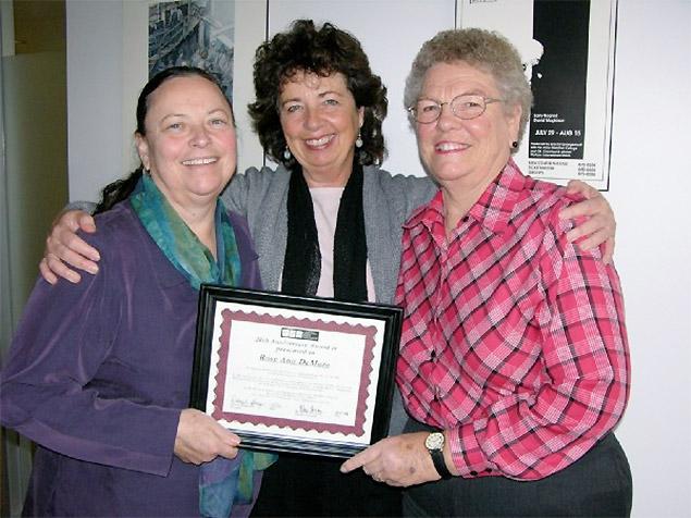 RoseAnn with Deborah Burger and Kay McVay