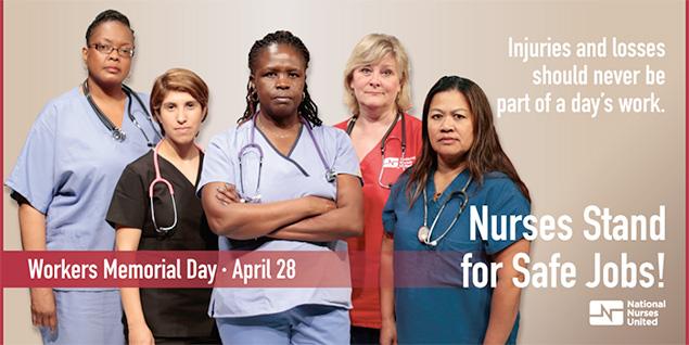 Nurses Stand For Safe Jobs!