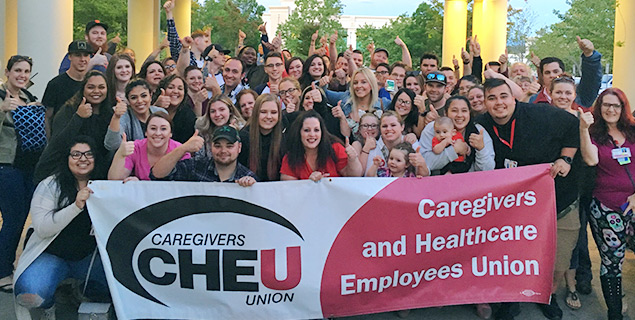 Shasta Medical Center healthcare workers join union