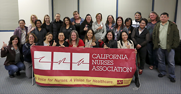 ValleyCare RNs celebrate