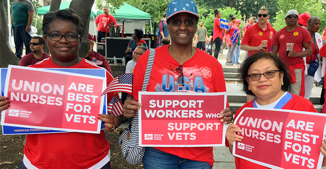 Union Nurses Are Best For Vets