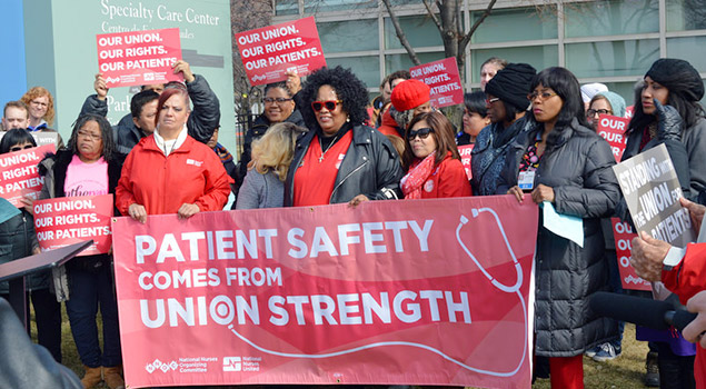 Patients Safety Comes From Union Strength