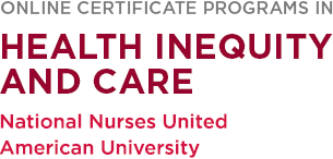 Health Inequity and Care Certificate Programs Logo