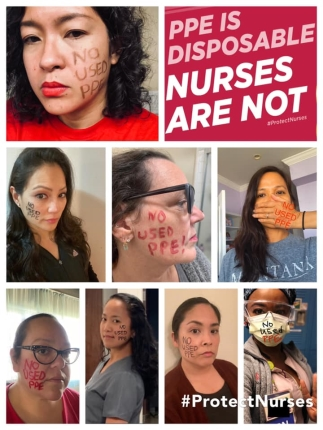 Nurses are not disposable flyer