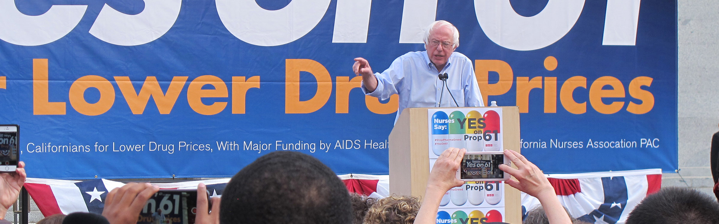 Sanders calls for lower drug prices
