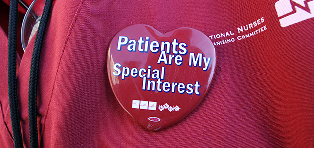 Patients are my special interest pin
