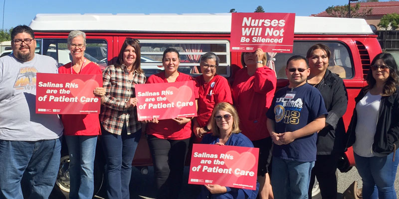 Salinas Valley RNs headed out to talk to voters
