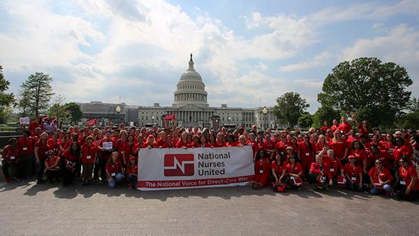 Nurses at Capitol