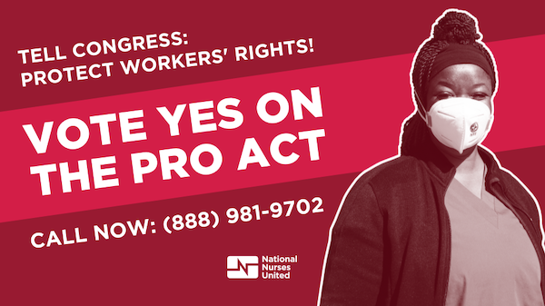 Tell congress vote yes on the PRO Act