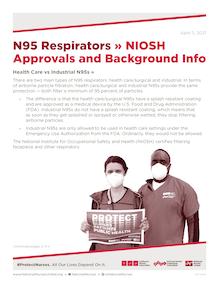 N95 NIOSH Approval Update