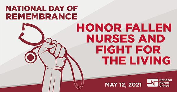 Honor fallen nurses