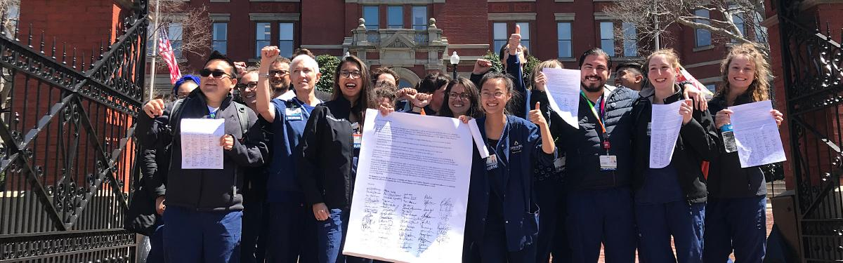 Johns Hopkins RNs Unite!
